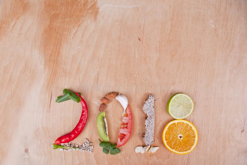 2018 Food Concept stock photography