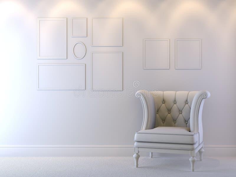 Composition intérieure illustration stock