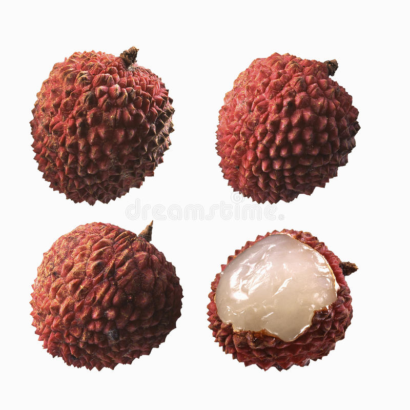 Download Composition With Lychees Stock Photo - Image: 23708450