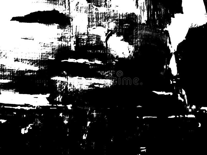 Composition noire et blanche abstraite photographie stock libre de droits