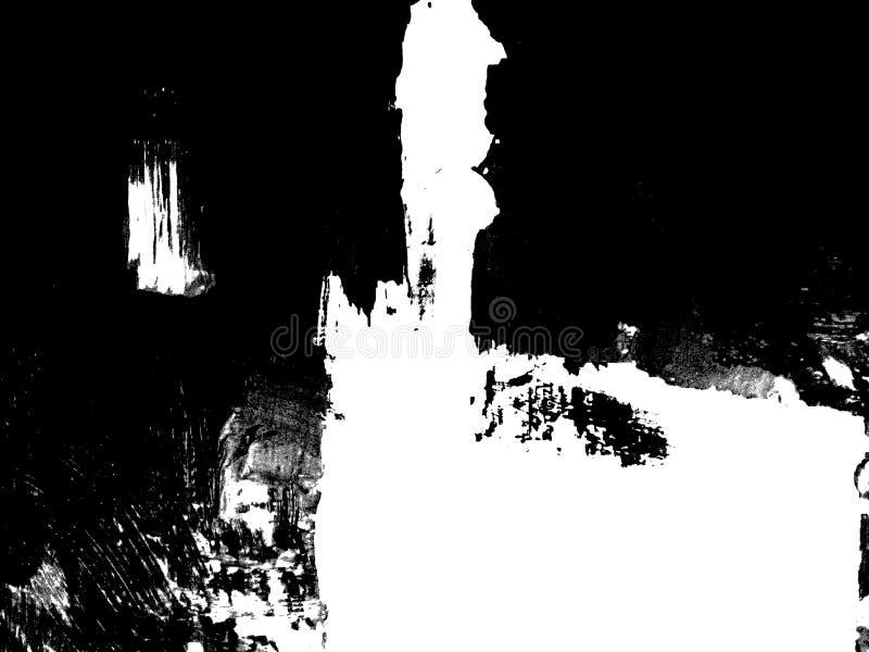 Composition noire et blanche abstraite photographie stock