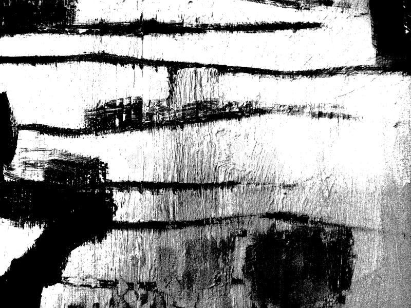 Composition noire et blanche abstraite photo libre de droits