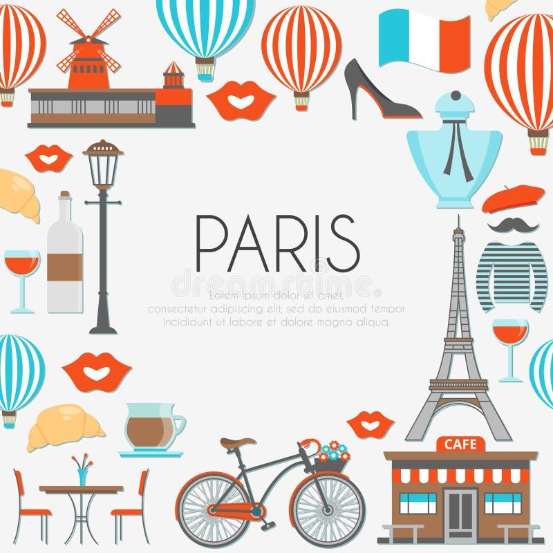 Download Composition ronde de Paris illustration de vecteur. Illustration du composition - 77158907