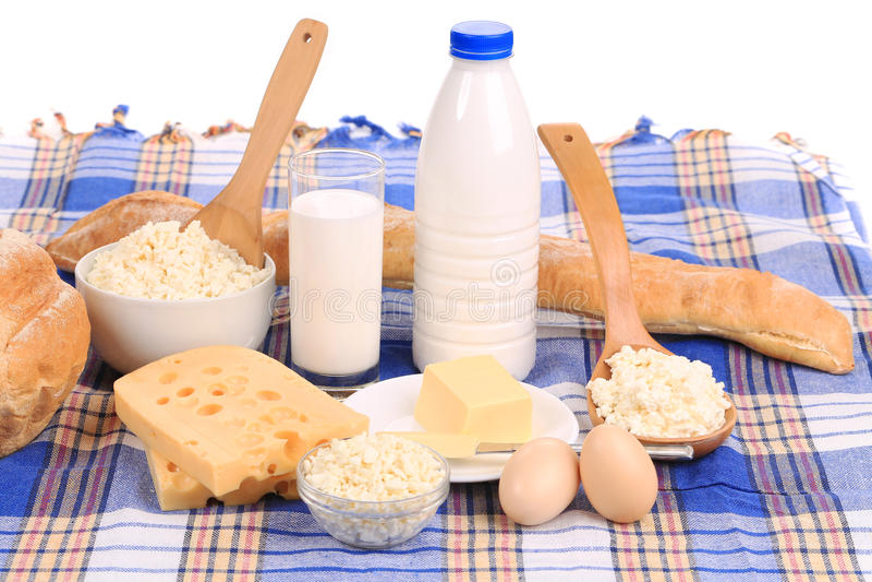 Composition saine en petit déjeuner photos stock