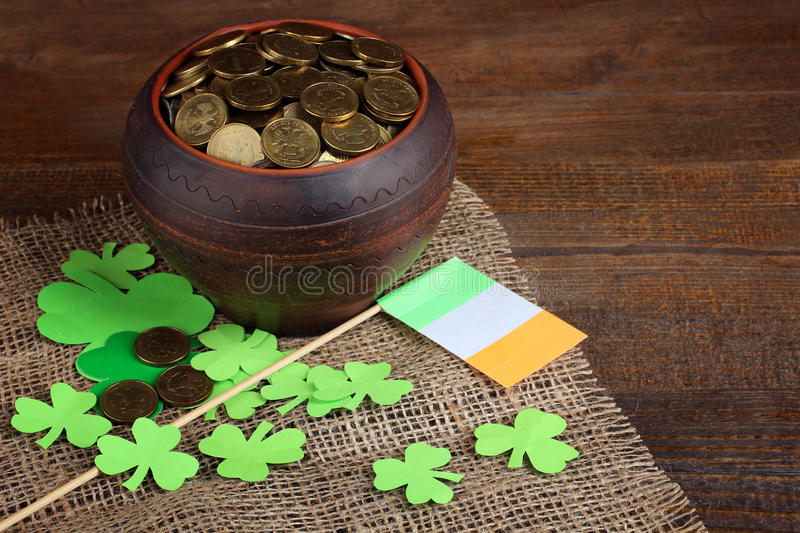 Composition of St. Patrick stock image