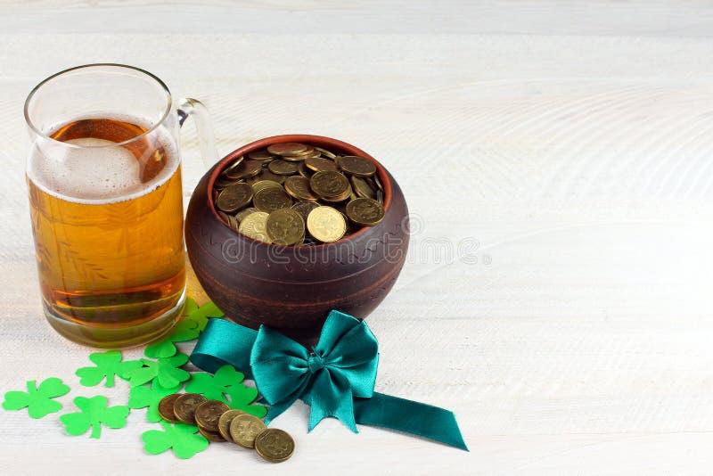 Composizione al giorno di St Patrick immagine stock
