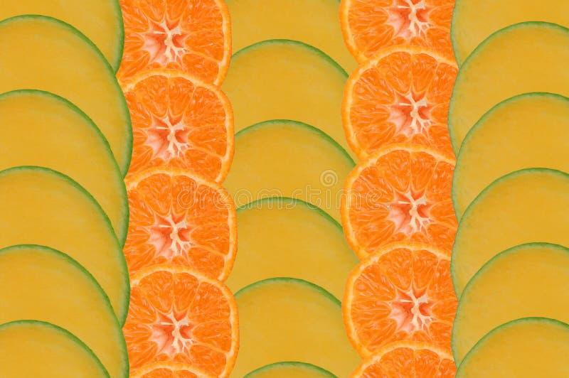 Composizione al gusto di frutta fotografia stock