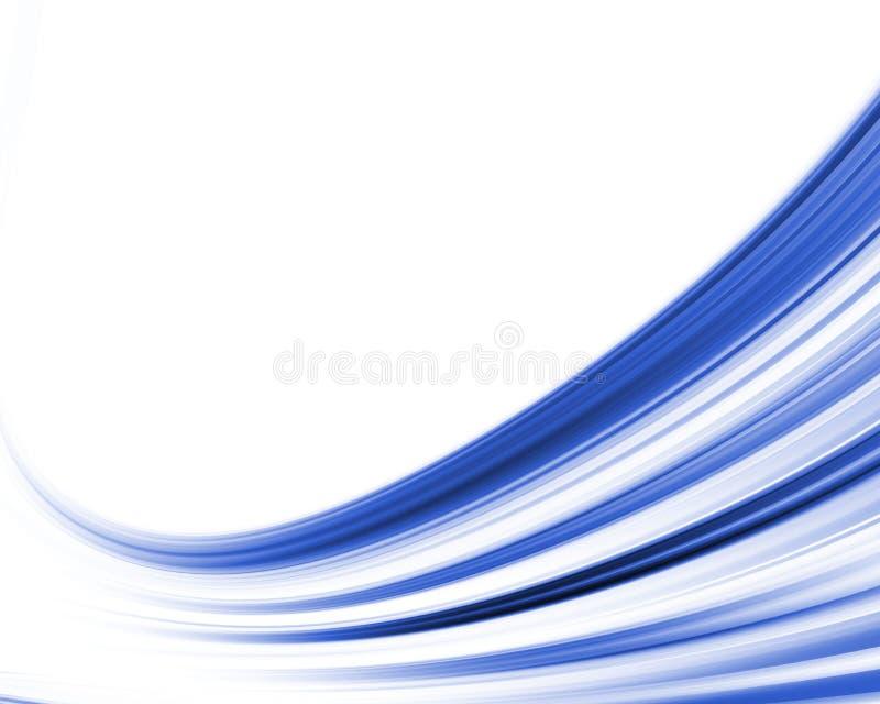 Composizione astratta nell'onda illustrazione vettoriale