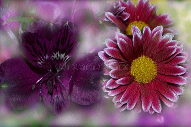 Composizione di bei colori luminosi, colori di contrapposizione fotografia stock libera da diritti