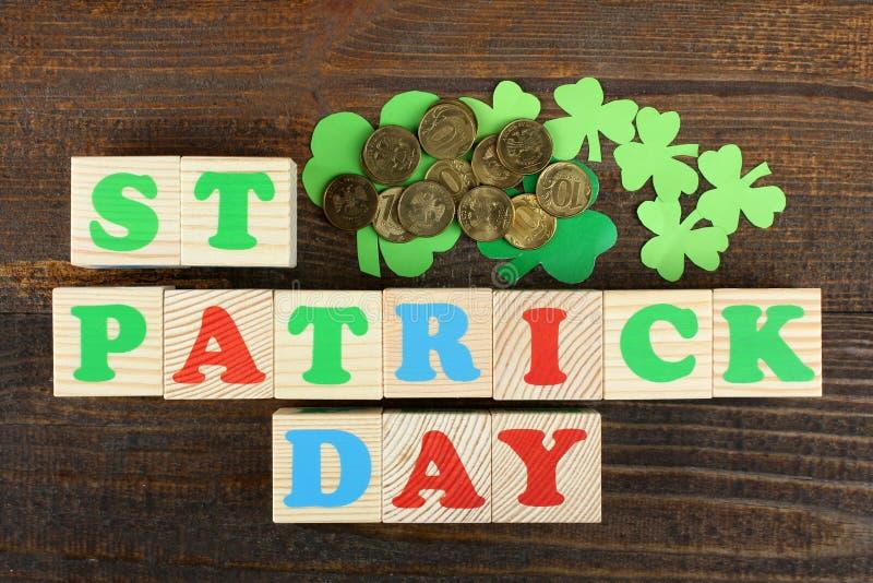 Composizione di St Patrick fotografia stock