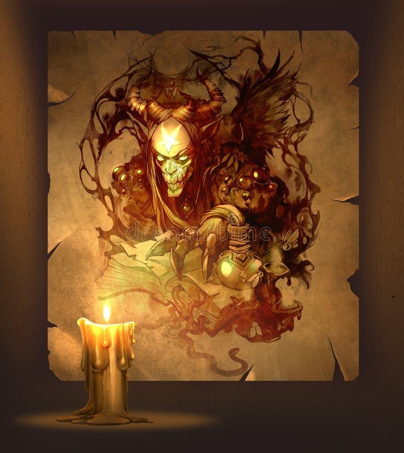 Composizione esoterica royalty illustrazione gratis