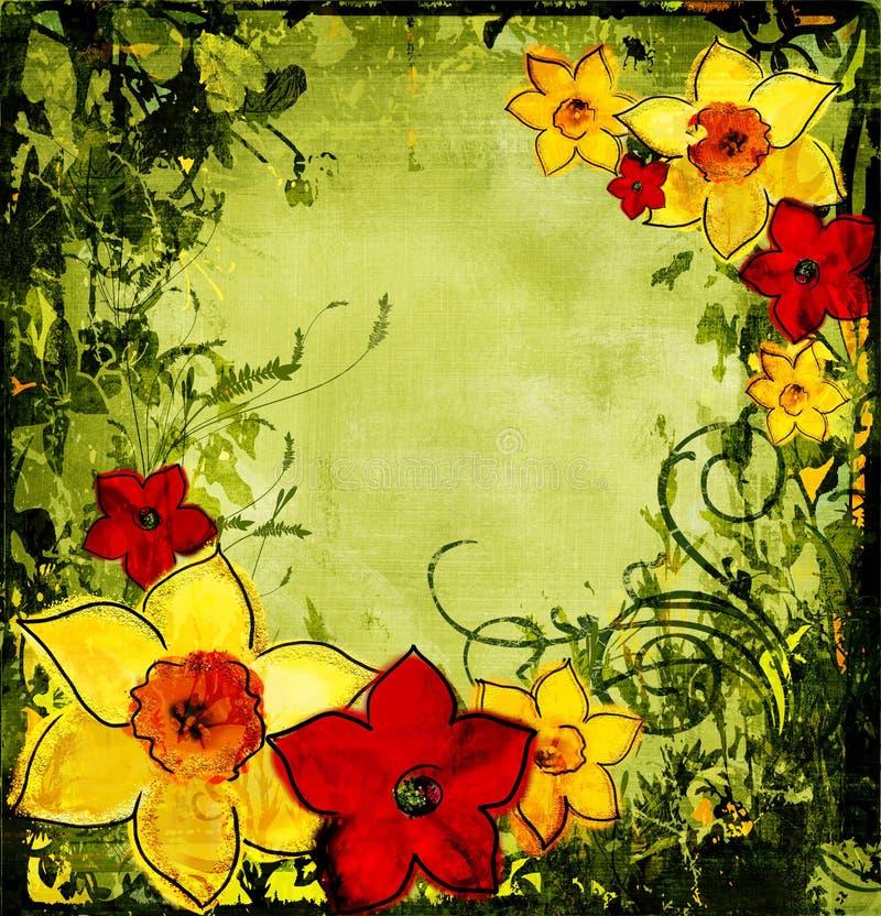Composizione floreale royalty illustrazione gratis