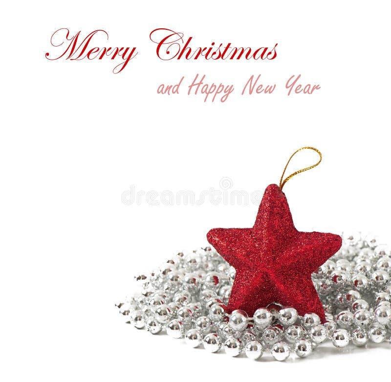 Composizione luminosa in Natale fotografie stock libere da diritti