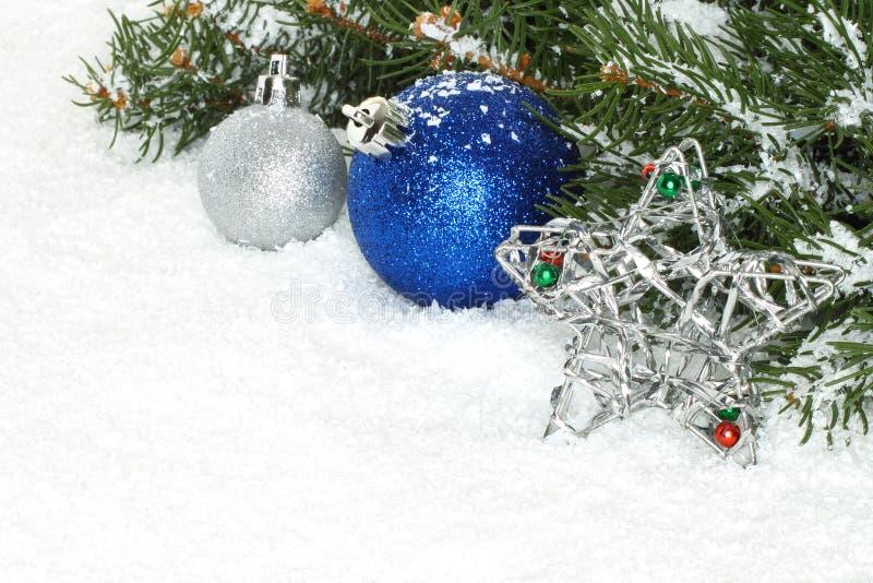 Composizione in Natale immagini stock