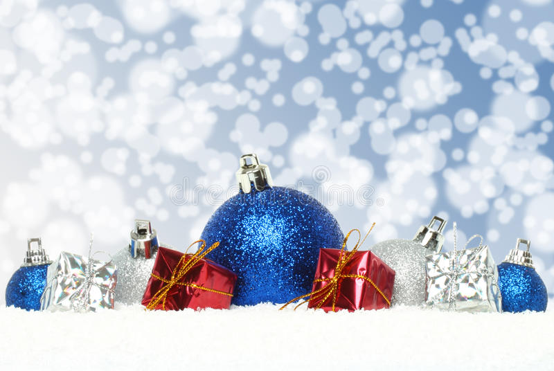 Composizione in Natale immagine stock