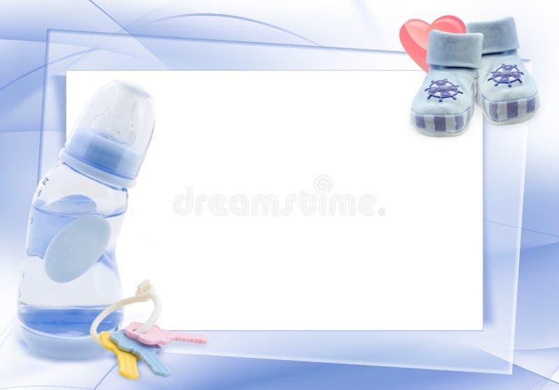 Composizione nel neonato illustrazione di stock