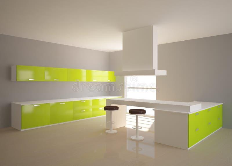 Composizione Nella Cucina 3d Illustrazione Di Stock