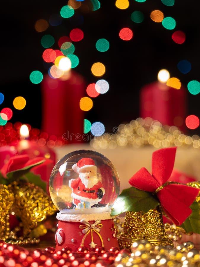 Composizione nella decorazione di Christmast immagine stock libera da diritti