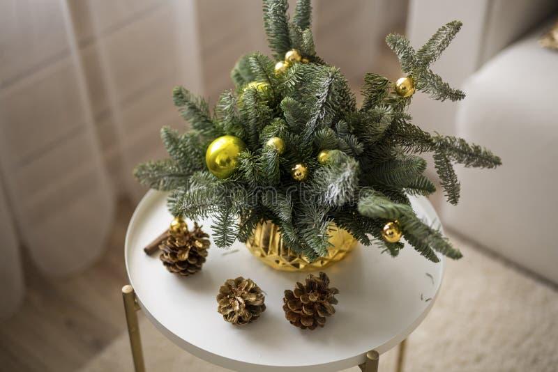 Composizione per il Natale e la festa fotografia stock libera da diritti