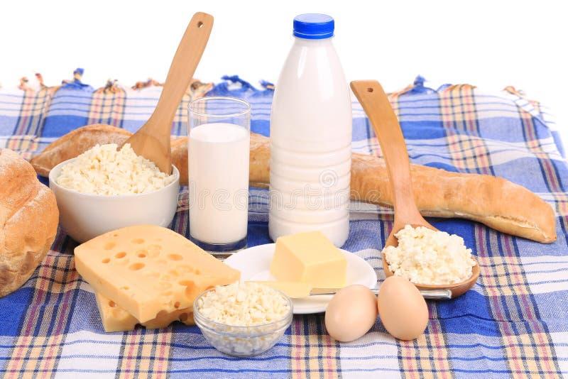 Composizione sana nella prima colazione fotografie stock