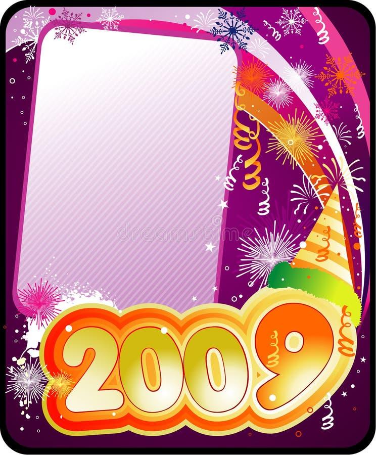 Download Composizione In Vettore Di Nuovo Anno Illustrazione Vettoriale - Illustrazione di telaio, pendenza: 7313560