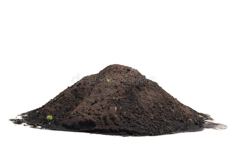 compost royaltyfri bild