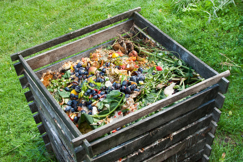 Download Compost Bin Stock Image. Image Of Away, Nature, Homemade   59118581