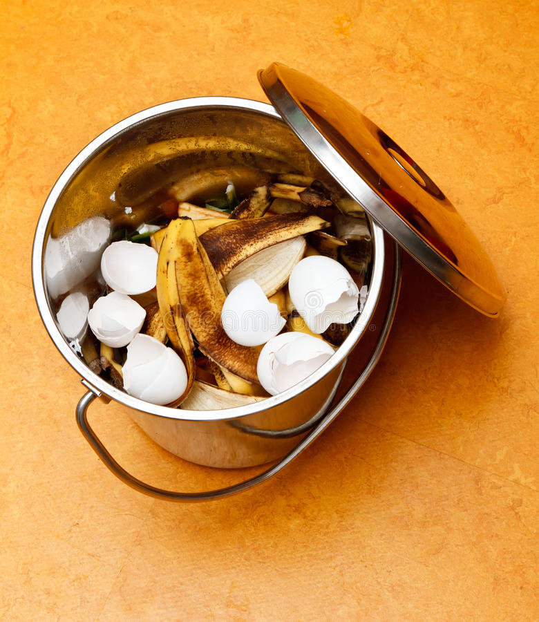 Compost Bucket Stock Image