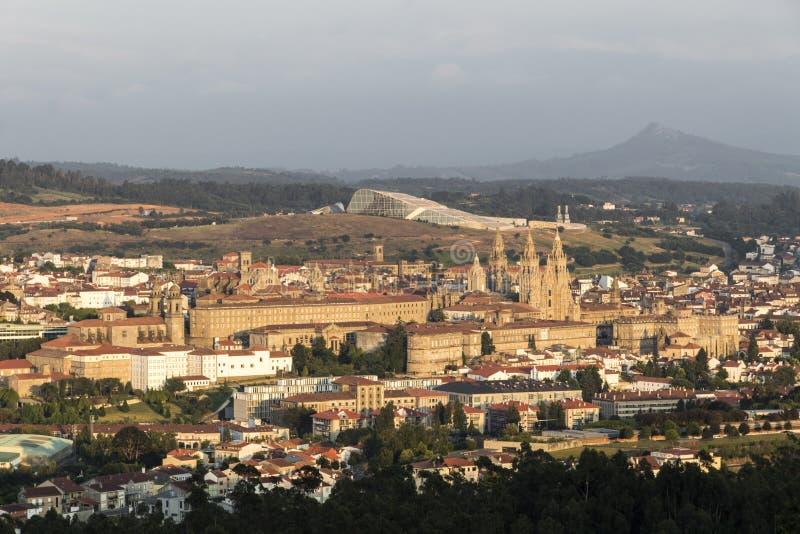compostela de Σαντιάγο Ισπανία στοκ εικόνες με δικαίωμα ελεύθερης χρήσης