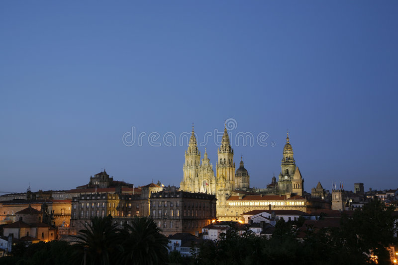 compostela de Σαντιάγο Ισπανία στοκ φωτογραφία με δικαίωμα ελεύθερης χρήσης
