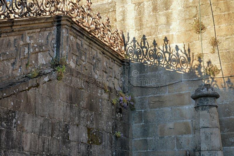 compostela de Σαντιάγο καθεδρικών ν&alp στοκ εικόνα