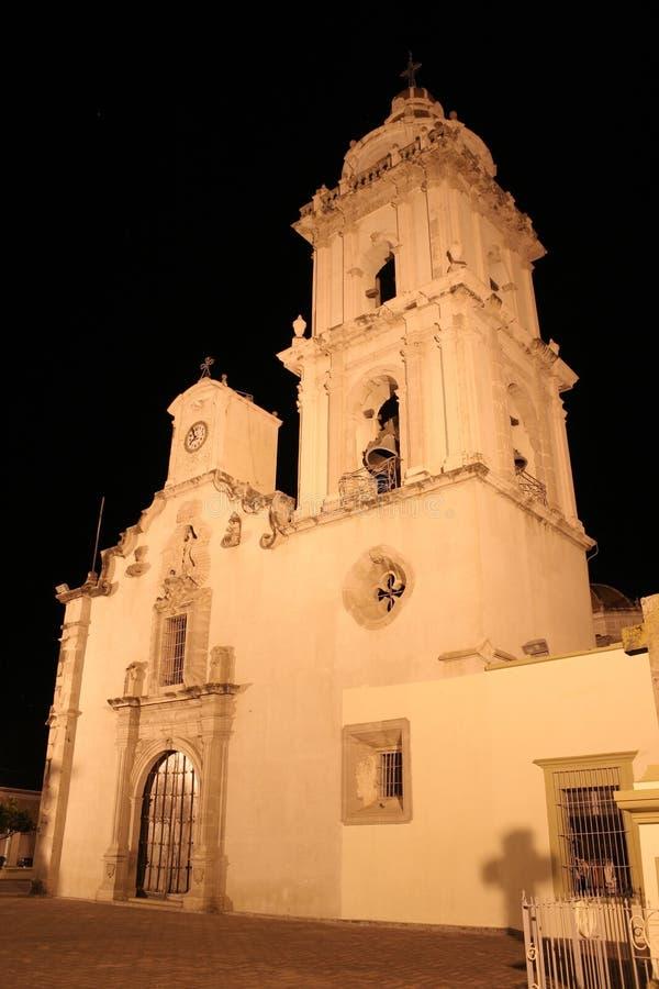 Compostela Kirche stockbild