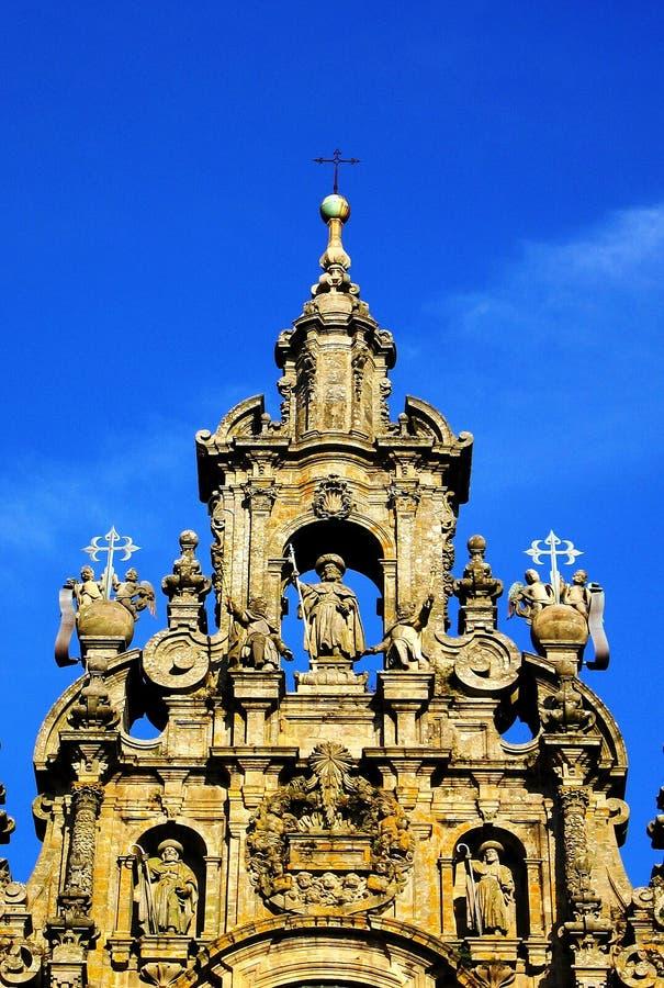 Download Compostela santiago собора стоковое изображение. изображение насчитывающей роскошно - 6863401