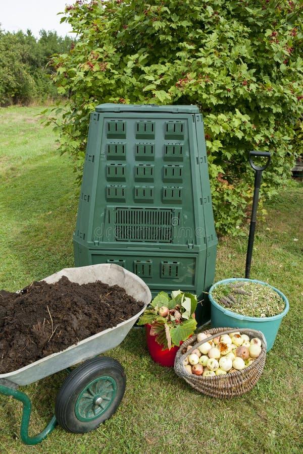 composting imagem de stock