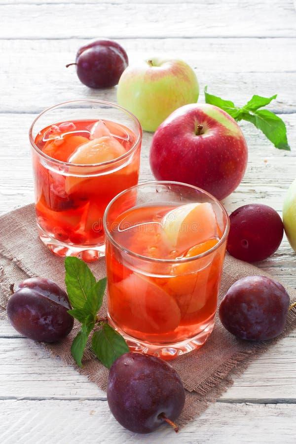 Compote φρούτων στοκ εικόνες με δικαίωμα ελεύθερης χρήσης