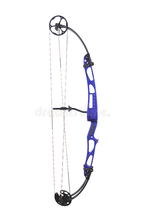 Download Compound bow stock image. Image of limb, brace, isolated - 10333839