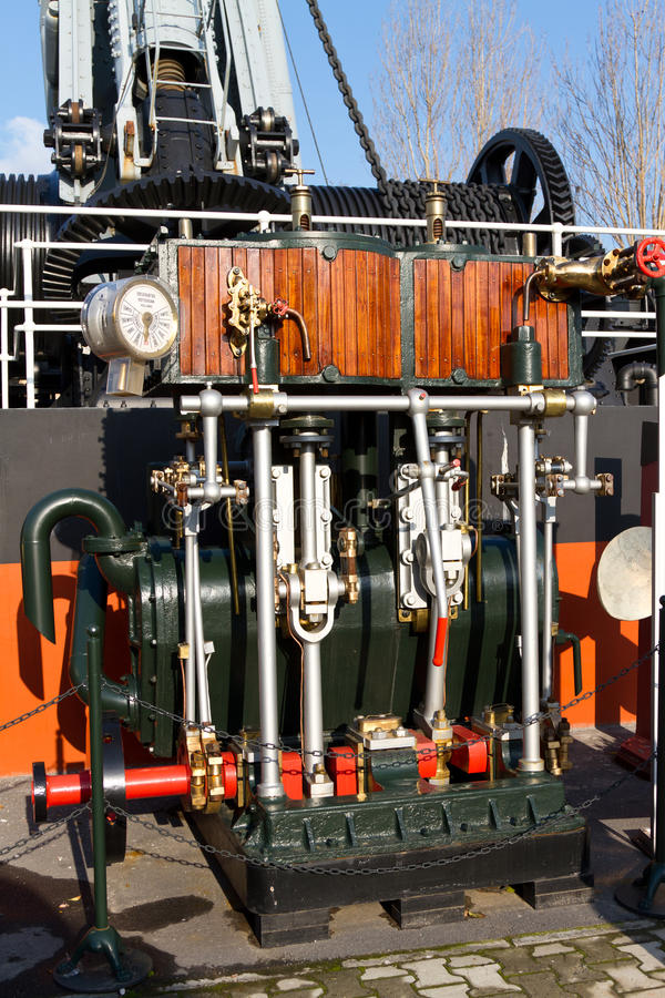 Compound Steam Engine Stock Photo