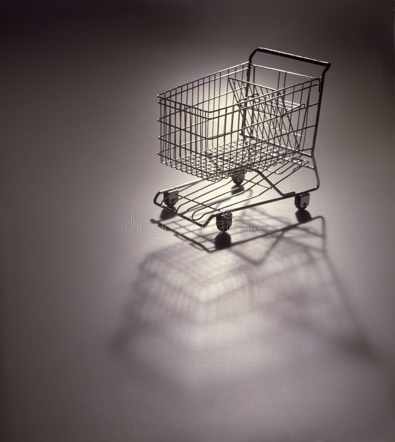 Compra cart_2 imagem de stock royalty free