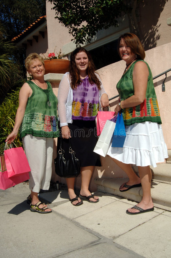 Compra das mulheres imagens de stock royalty free