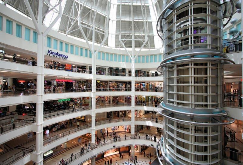 Compra de Kuala Lumpur fotografia de stock