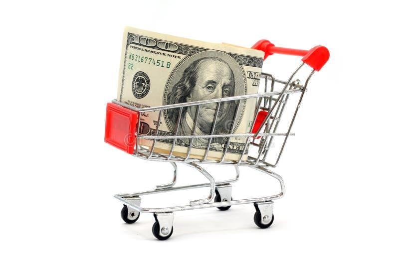 Compra do dinheiro imagem de stock royalty free