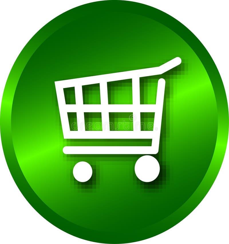 Compra do Web ilustração stock