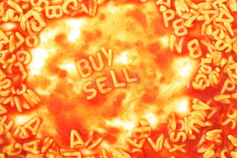 Compra e sell imagem de stock