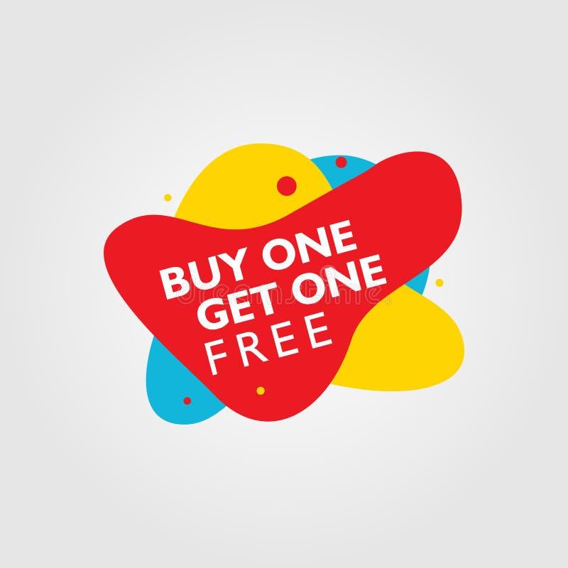 Compra uma para obter uma oferta especial livre para a venda ilustração royalty free