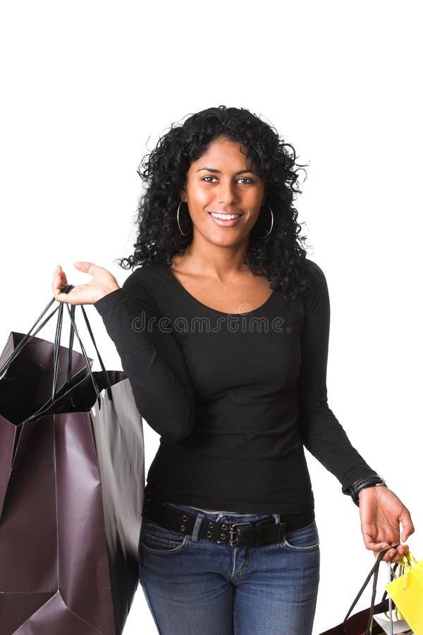 Comprador femenino fotografía de archivo libre de regalías