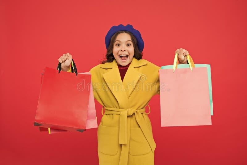 Comprar desconto no feriado de aniversário Fashionista adore shopping Satisfação do cliente Primeira hora de compra da primavera fotografia de stock