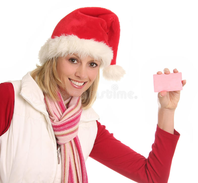 Compras de la Navidad imagen de archivo libre de regalías