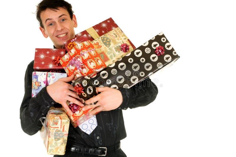 Compras de la Navidad fotografía de archivo libre de regalías