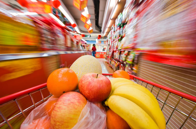Download Compras Do Special Para O Festival Chinês Foto de Stock - Imagem de mercado, escolher: 12803706
