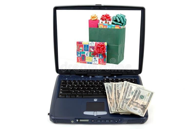 Compras en línea fotos de archivo libres de regalías